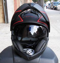 Nexx X30 modular helmet with dual visors