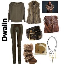 the hobbit inspired outfit ~ dwalin