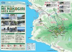 Map of Mt Nokogiri area, Kyonan