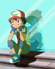Pokeshipping ash x misty Pokemon - Poke Ball Pokemon Ash And Misty, Ash Pokemon, Pokemon Ships, Pokemon Memes, Ash And Dawn, Pikachu, Pokemon Sketch, Pokemon Couples, Cute Pokemon Wallpaper