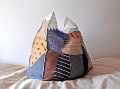 Large Mountain Pillow Chamonix by MountainPillows on Etsy, $120.00