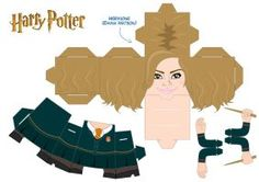 Hermione Granger - Cubeecraft by asuzz