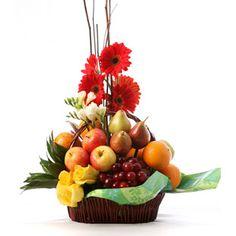 Fruit And Vegetable Carving, Fruit Arrangements, Fruits And Vegetables, Gift Baskets, Shapes, Flowers, Gifts, Flower Arrangements, Embellishments