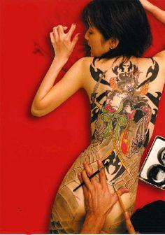 Tattoo Art in Japan