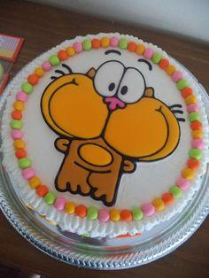 Mundo Gaturro cake