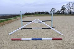 This exercise is great for slowing down a speedy jumper ______________________________________ It is also great for young/green horses