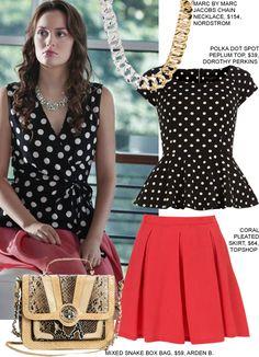Gossip Girl Fashion: Copy Blair's Pink