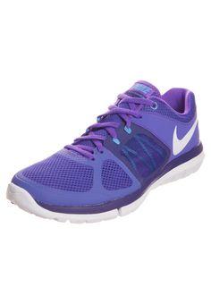 d1b7735692a6 Nike Performance - FLEX 2014 RUN - Cushioned running shoes - hyper grape white court  purple