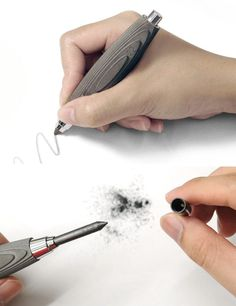 40 Awesome Gift Ideas For Architects And Interior Designers // A concrete mechanical pencil.