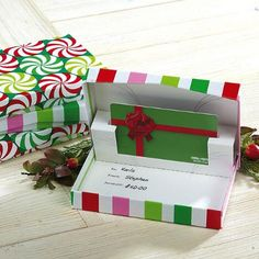 Pop-Up Gift Card Boxes $10.00