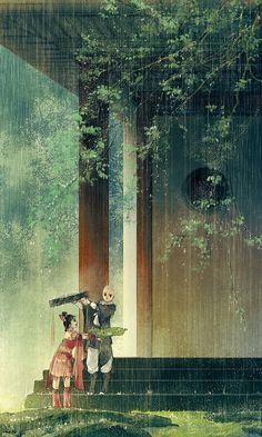 Chùm tranh Thất Tú - Thiếu Lâm - Hạ