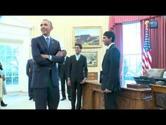 Obama Fails Against Spelling Bee Champs - YouTube
