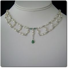 Penelope with Emerald from Echo Moon Jewelry