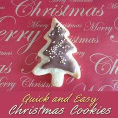 Quick and Easy Christmas Tree Cookies Recipe with Chocolate Icing Last Minute Make for Festive Holiday Season Christmas Tree Cookies, Cool Christmas Trees, Simple Christmas, All Things Christmas, Christmas Ornaments, Festive Crafts, Vanilla Cookies, Chocolate Icing, Holiday Festival