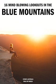 Not all views are created equal and if you don't have long in the mountains then you probably you want to make sure you see the best ones. So here's out guide to the most beautiful lookouts in the Blue Mountains. #Australia #BlueMountains #BlueMountainsLookouts