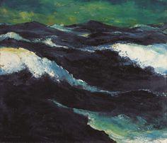 """ Emil Nolde - The sea III 1913 """