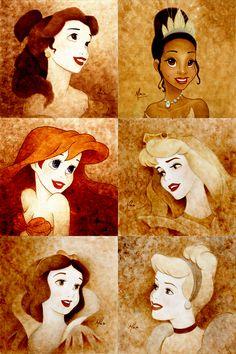 Disney Princesses - Disney Princess Fan Art (31393166) - Fanpop