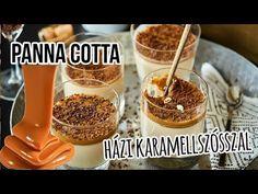 Vannak olyan desszertek, amik bár nagy klasszikusok, soha nem mennek ki a divatból. Ilyen a panna cotta is, amit most egy házi karamellöntettel csináltunk. Panna Cotta, Deserts, Sweets, Breakfast, Food, Caramel, Morning Coffee, Dulce De Leche, Gummi Candy