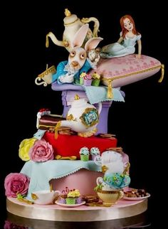 Alice in Wonderland - Cake by Le torte di Renato