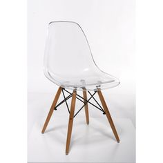 Boasting mid-century design, this  white  side chair  will make a perfect addition to any dining room or living space. The  wood and metal  material was hand-selected by a skilled chair craftsman in China to bring a unique flair to your home.