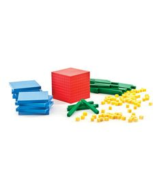 We bought these! Thinking Kids' Math Base Ten Starter Set by Carson-Dellosa Publishing Company on #zulily today!