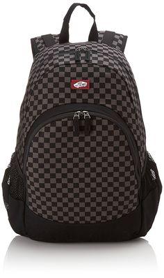 Vans Herren Rucksack M Van Doren Backpack, Black/Grau, 47 x 35 x 17 cm, 28 Liter, Rucksack Bag, Men's Backpack, Black Backpack, Briefcase, Vans Bags, Cotton Bag, Charcoal, Zip, Germany