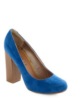 Hello, Blue-tiful Heel... for the days when I'm feeling brave enough to wear heels.