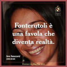Il pensiero di Sara Bonaccorsi sulla esperienza durante il blog tour a Fonterutoli. @marchesimazzei #mazzei #fonterutoli #tuscany #wine