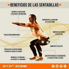 Beneficios de las sentadillas (isométricas).