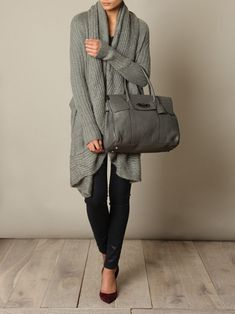 fall outfit... <3 big, cozy sweaters!