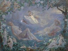 キタ@妖精研究(@nhow_fairy)さん   Twitter ジョン・シモンズ「夏の夜の夢」1873年