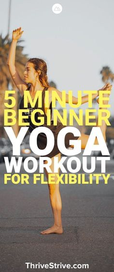 Looking for a yoga workout for flexibility? Here is a yoga workout for beginners that will improve your flexibility and feeling great.