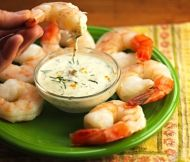 Serve up some of these Shrimp with Lemon-Dill Dipping Sauce as a fantastic finger food