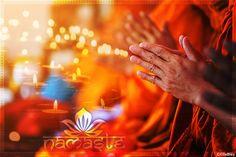 Lass dich inspirieren von Buddhas 10 Weisheiten Wanddekobild Namaste Fotoprodukt #yogastudiodesign Yoga Studio Design, Lotus Design, Yoga Inspiration, Ayurveda, Namaste, Yoga Lifestyle, Abs, Boho, Mudra