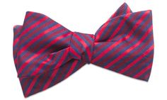 Bristol Red Self-Tie Bow Tie