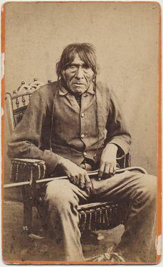 Pasqual Yuma Indian Chief albumen cabinet card by CrowCreekUnique, $495.00