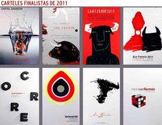 Carteles finalistas de San Fermín 2011