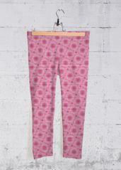 Yoga Capri Pants - Pink Azalea Flower in Pink/Purple by VIDA Original Artist Yoga Capris, Yoga Pants, Purple Cross, Womens Capri Pants, Pants Pattern, Star Patterns, Capri Leggings, Pink Purple, Blue