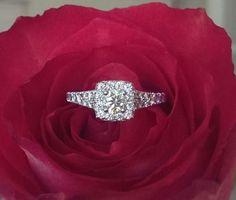 Hearts on Fire Diamond Engagement Ring. Fine Jewelry, Jewellery, Fire Heart, Bvlgari, Luxury Jewelry, Luxury Branding, Diamond Engagement Rings, Diamond Jewelry, Jewelry Collection