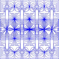 Be Diff - Estampas geométricas | Fripo floral by Chris Lymma