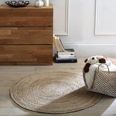 Tapis en  jute rond Aftas. Entrez dans la tendance et craquez pour ce tapis Aftas, 100% nature.Caractéristiques du tapis en  jute Aftas :100% en  jute véritable.2000 g/m².Retrouvez l'ensemble de la collection tapis Aftas sur laredoute.fr.Dimensions du tapis en  jute Aftas :Diamètre : 100 cm