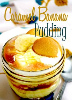 Caramel and banana pudding!! Who would have thought that banana pudding could get any better.