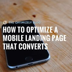 40% of mobile web visitors will choose another option if a website isn't mobile-friendly. Your visitors have choices, and won't hesitate bouncing if your mobile experience isn't u…
