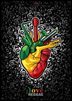Reggae...The Heartbeat Of A People.
