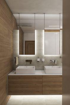 Přírodní koupelna RELIEF - Přímý pohled od vstupu
