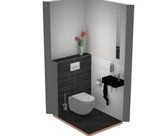 Toilet Interieur Ideeen : Best toilet ideëen images bathrooms gowns and