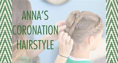 Recreate Anna's hairstyle from the coronation in Frozen with this tutorial.