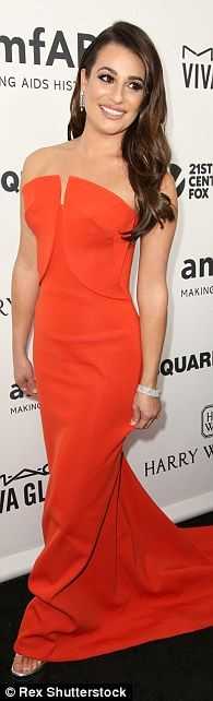 His leading ladies! Lea Michele, Gwyneth and Emma Roberts all honored Ryan Murphy at the s...