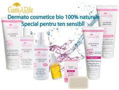 Dermato cosmetice bio Gamarde pentru ten sensibil