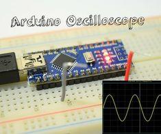 Arduino Oscilloscope Under 5 $ - 3 Channel